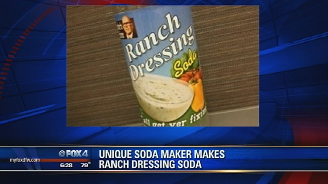 Ranch dressing soda hits shelves