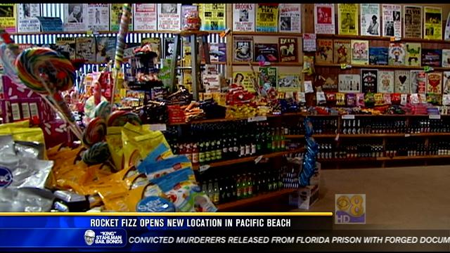 Rocket Fizz opens new location in Pacific Beach