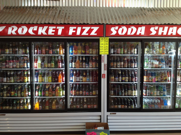 Retail: Rocket Fizz Opens Near Trader Joe's