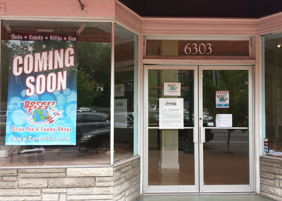 Rocket Fizz Candy Replacing Children's Store in the Delmar Loop