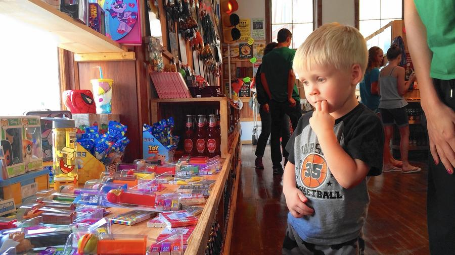 Visitors sweet on new candy shop