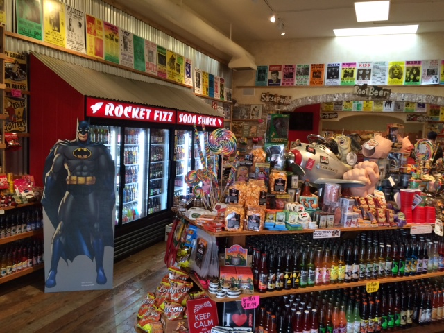Soda And Candy Shop 'Rocket Fizz' Set To Blast Off At Wharf