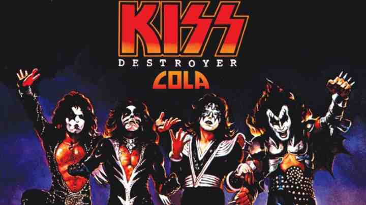 KISS Announce Their Own Brand Of Cola