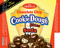 Cookie Dough Bites Chocolate Chip Soda