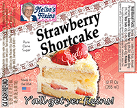 Melbas Fixins Strawberry Shortcake