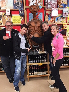 <p>The guys from Tru TV's Hardcore Pawn Chicago raided Rocket Fizz in Glenview, Illinois... And no, E.T. was not pawned away.</p>