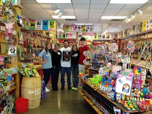 <p>Rocket Ryan at the Rocket Fizz franchise in Conway Arkansas.</p>