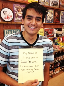 <p>Rocket Fizz space team member Izzy of Rocket Fizz Vista, CA.</p>