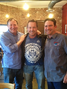 <p>Rocket Fizz founders Rob and Ryan with WWE hall-of-fame wrestler and actor Rowdy Roddy Piper... Rowdy Roddy is one of the toughest men walking the planet--and super cool too!</p>