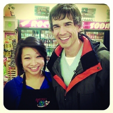 <p>Actor Christopher Gorham of Covert Affairs, Justice League: War, etc. visits Rocket Fizz in Westwood, California.</p>