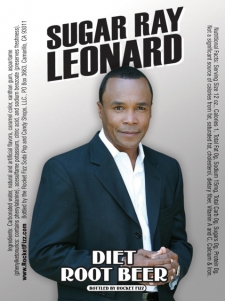 <p>Rocket Fizz bottled a Sugar Ray Leonard soda pop in honor of Sugar Ray's charitable contributions. Thank you Sugar Ray for all of your hard work and dedication towards great causes!</p>
