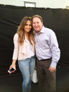 <p>Rocket Fizz Rob with Jennifer Lopez aka J-LO... Rob says 'Jennifer is one of the coolest women to ever walk this planet.'</p>