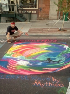 <p>Rocket Fizz street art</p>