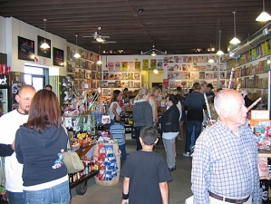 <p>A busy day at Rocket Fizz in Camarillo, CA. There is something fun for everyone.</p>