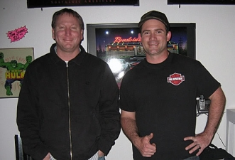 <p>Co-founders Robert and Ryan on the very first day of the first Rocket Fizz Soda Pop Shop store opening in Camarillo, CA.</p>
