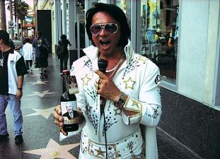 <p>Elvis is alive!</p>