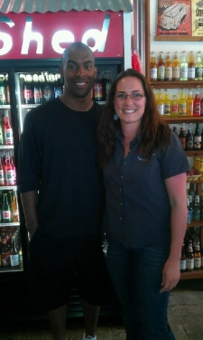 <p>Lorenzo Booker Running Back from the Minnesota Vikings #27 and former Player for the Miami Dolphins. Came to Rocket Fizz Camarillo on 4-9-12</p>