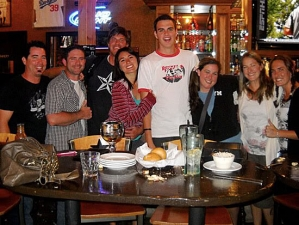 <p>Going away party for Marcus, a valued employee of the Camarillo Rocket Fizz.</p>