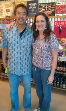 <p>New store owner Rob Fukutomi at Vista store California.</p>