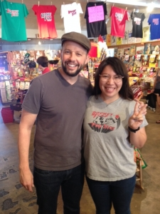 <p>Jon Cryer (Pretty in Pink, Two and a Half Men, etc.) stopped by Rocket Fizz in Sherman Oaks, California for another visit. Jon is a super duper nice guy and a big fan of ours!</p>