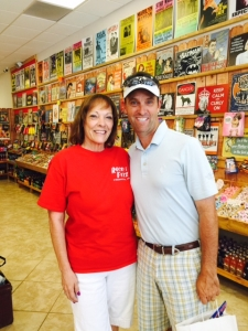 <p>U.S. Congressman Steve Knight of California's 25th congressional district visited Rocket Fizz franchisee Sandy at her store in Lancaster, CA. Congressman Knight truly supports his local community and is a big Rocket Fizz fan!</p>