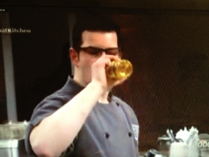 "<p>Rocket Fizz bottled Corn Soda on The Food Network's ""Cutthroat Kitchen.""</p>"