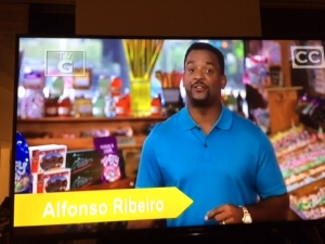 "<p>Alfonso Ribeiro (Fresh Prince of Bel-Air, etc.) filming a TV episode at Rocket Fizz for the Cooking Channel's ""Unwrapped 2.0.""</p>"