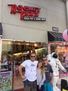 <p>The Altman family about to enjoy themselves at our Westwood, CA store</p>