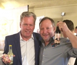 <p>Mister awesome Chris Hansen of Dateline NBC. Here he is with Rocket Fizz co-founder Rob.</p>