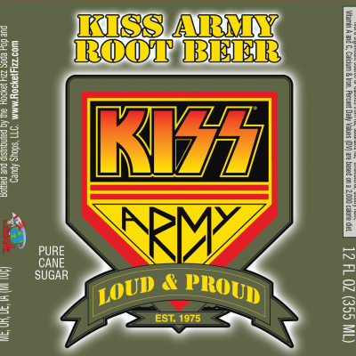 KISS Army Root Beer