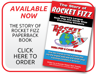 The Story of Rocket Fizz Paperback Book