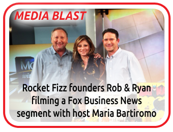 Media Blast Rocket Fizz Founders on Fox News