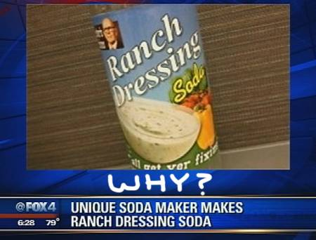 Ranch Dressing Flavored Soda Could Be The Worst Thing On The Planet!