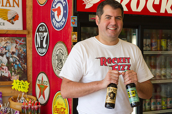 Rocket Fizz ready to launch with candy, pop