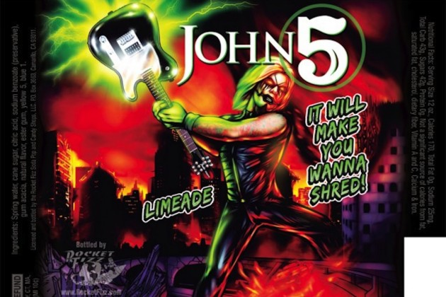 John 5 Unveils Signature Brand of Soda