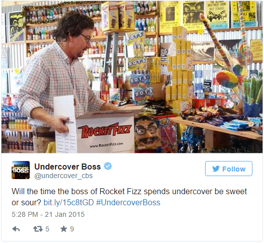 Robert Powells of Rocket Fizz, 'Undercover Boss': 5 Fast Facts You Need to Know
