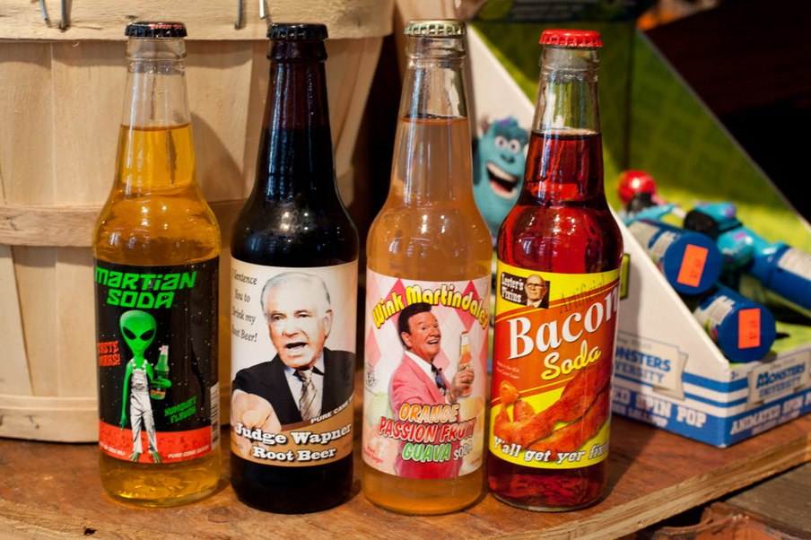 5 cool, weird and nostalgic finds at Rocket Fizz candy and soda store in Frisco
