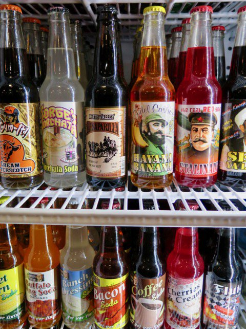 New to metro Atlanta, Rocket Fizz is a candy paradise