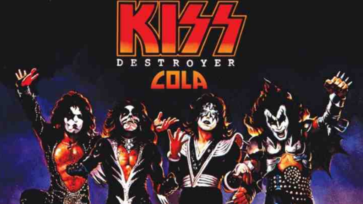 KISS want to rock your world and rot your teeth with their new brand of cola