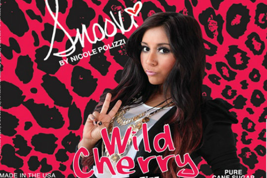Snooki Soda! Limited Edition Rocket Fizz Wild Cherry