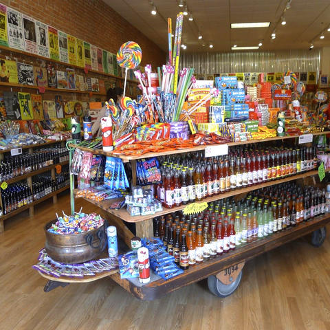 Sugar Rush: Rocket Fizz, Assorted Goods, and Sugarlicious