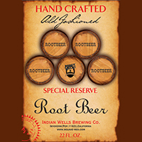 Hand Crafted Special Reserve Root Beer - 22oz