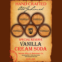 Hand Crafted Special Reserve Vanilla Cream - 22oz