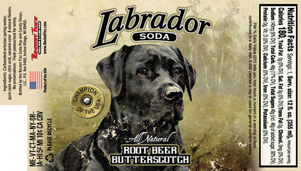 Labrador Soda All Natural Root Beer Butterscotch