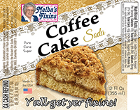 Melbas Fixins Coffee Cake