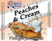 Melbas Fixins Peaches and Cream