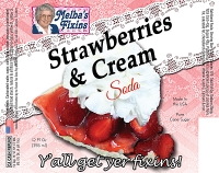Melbas Fixins Strawberries and Cream