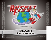 Rocket Fizz Black Licorice