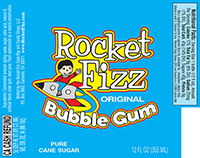 Rocket Fizz Bubble Gum Soda