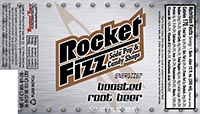 Rocket Fizz Energized Boosted Root Beer